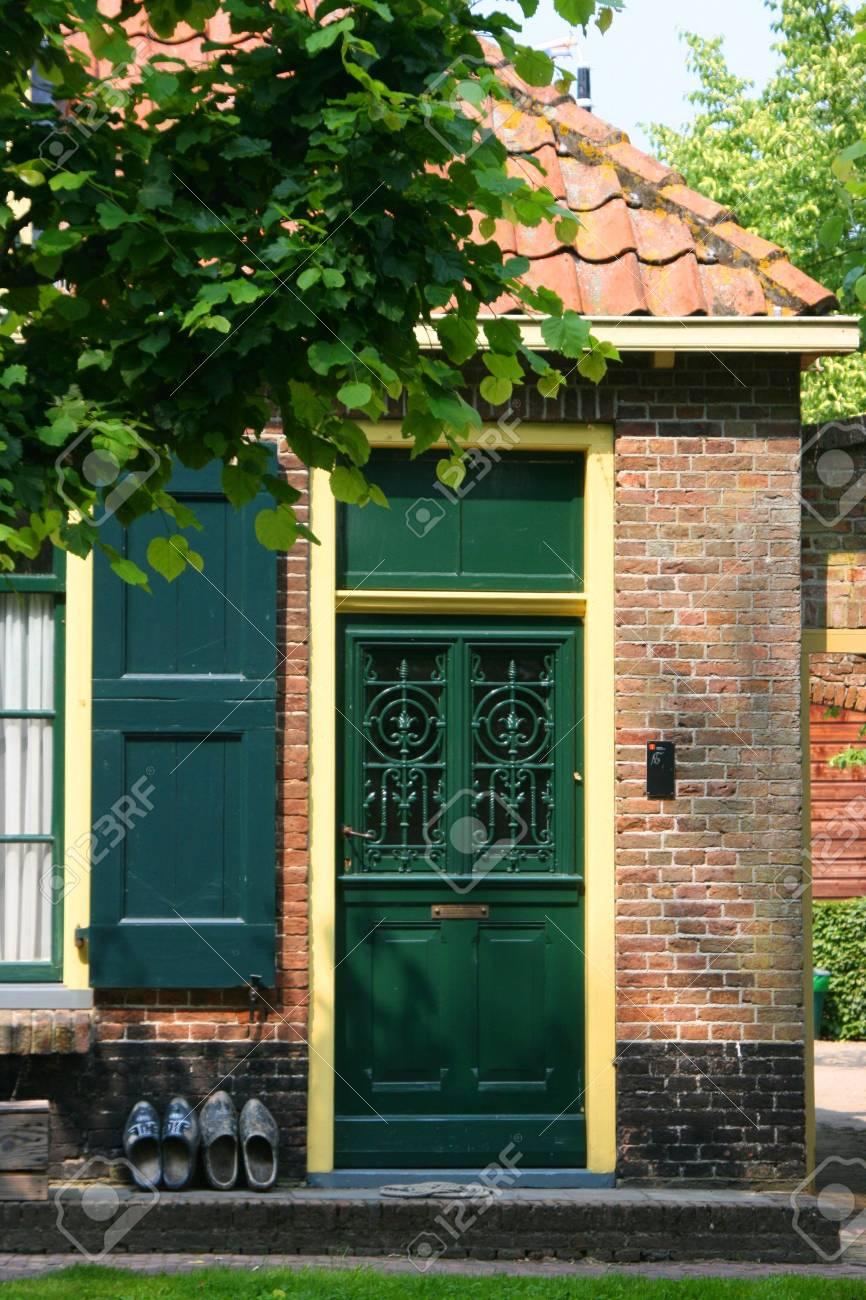 beautiful scenery at heritage museum of enkhuizen in north of holland Stock Photo - 5938011