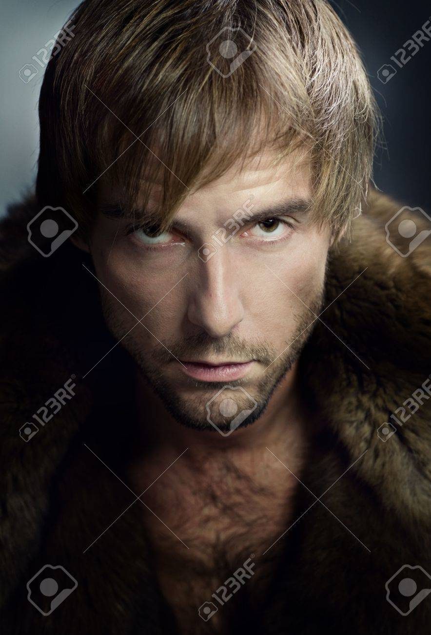 Stylish young man portrait. Looking at camera Stock Photo - 7861998