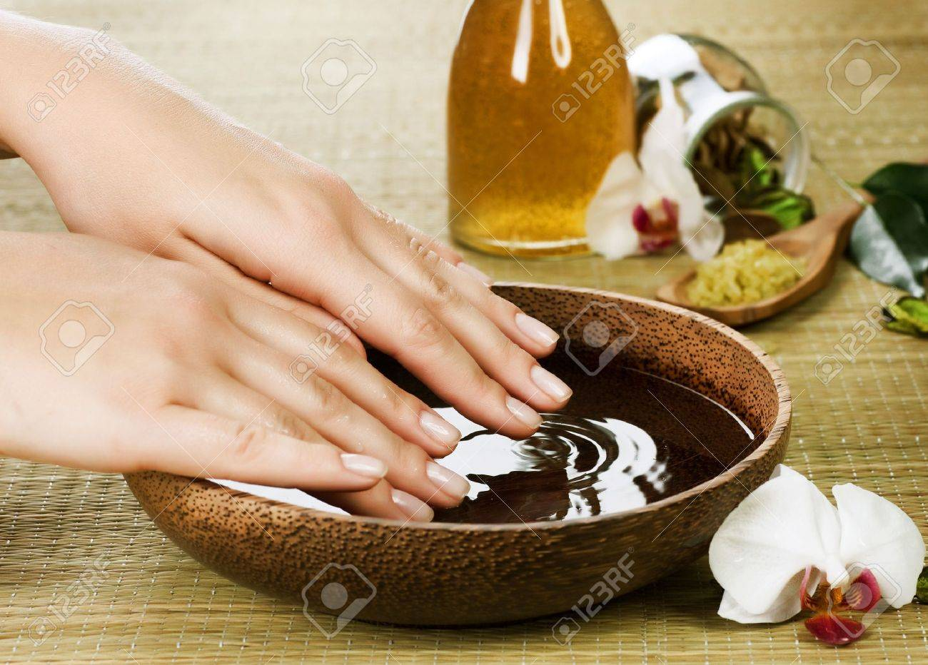Hands Spa Stock Photo - 8718500