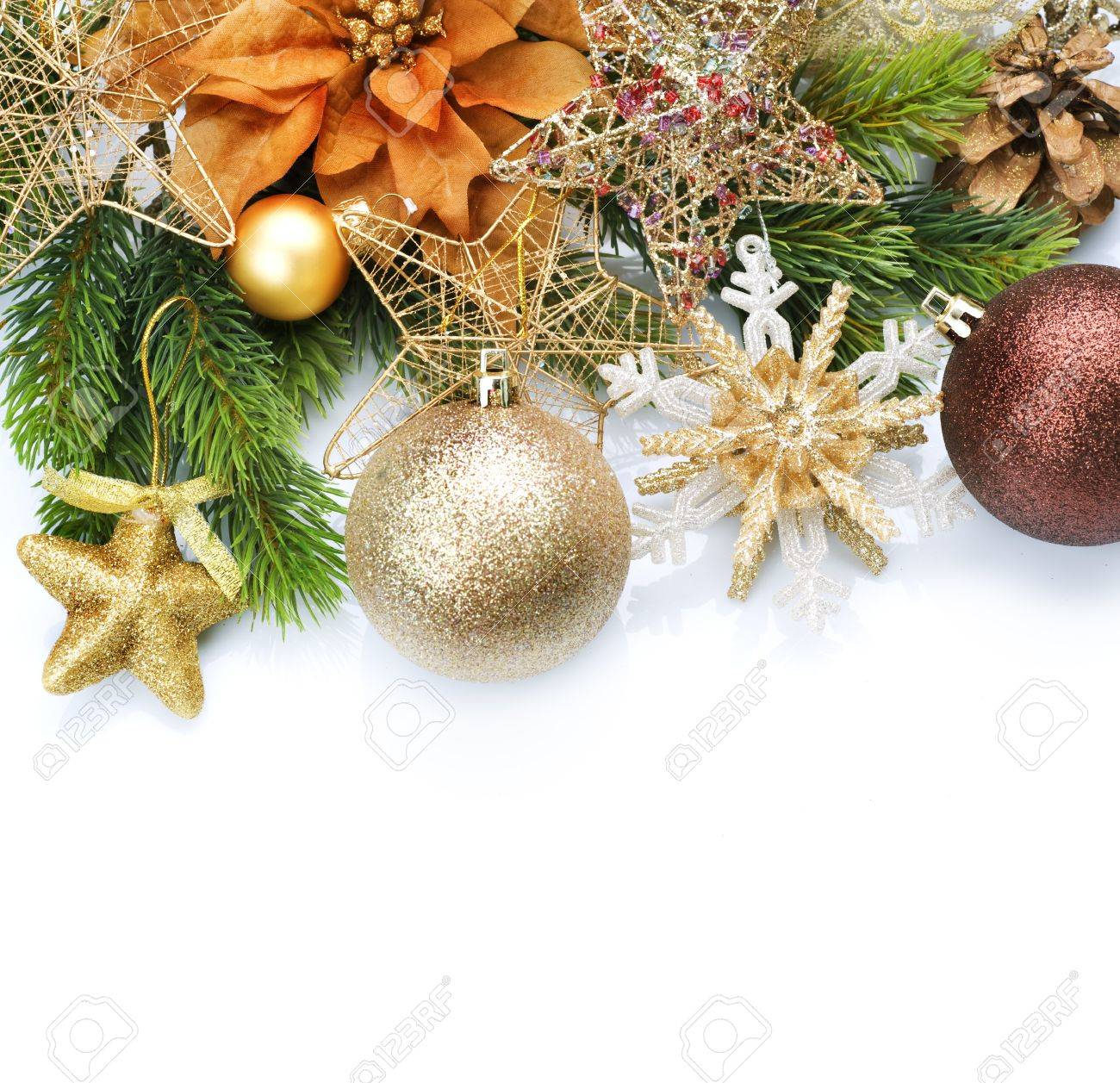Christmas Decoration border design Stock Photo - 8375025