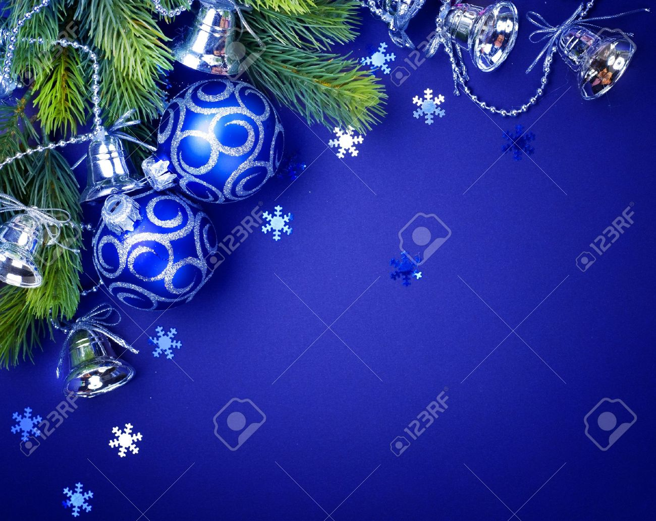 Christmas decoration border design Stock Photo - 9357815