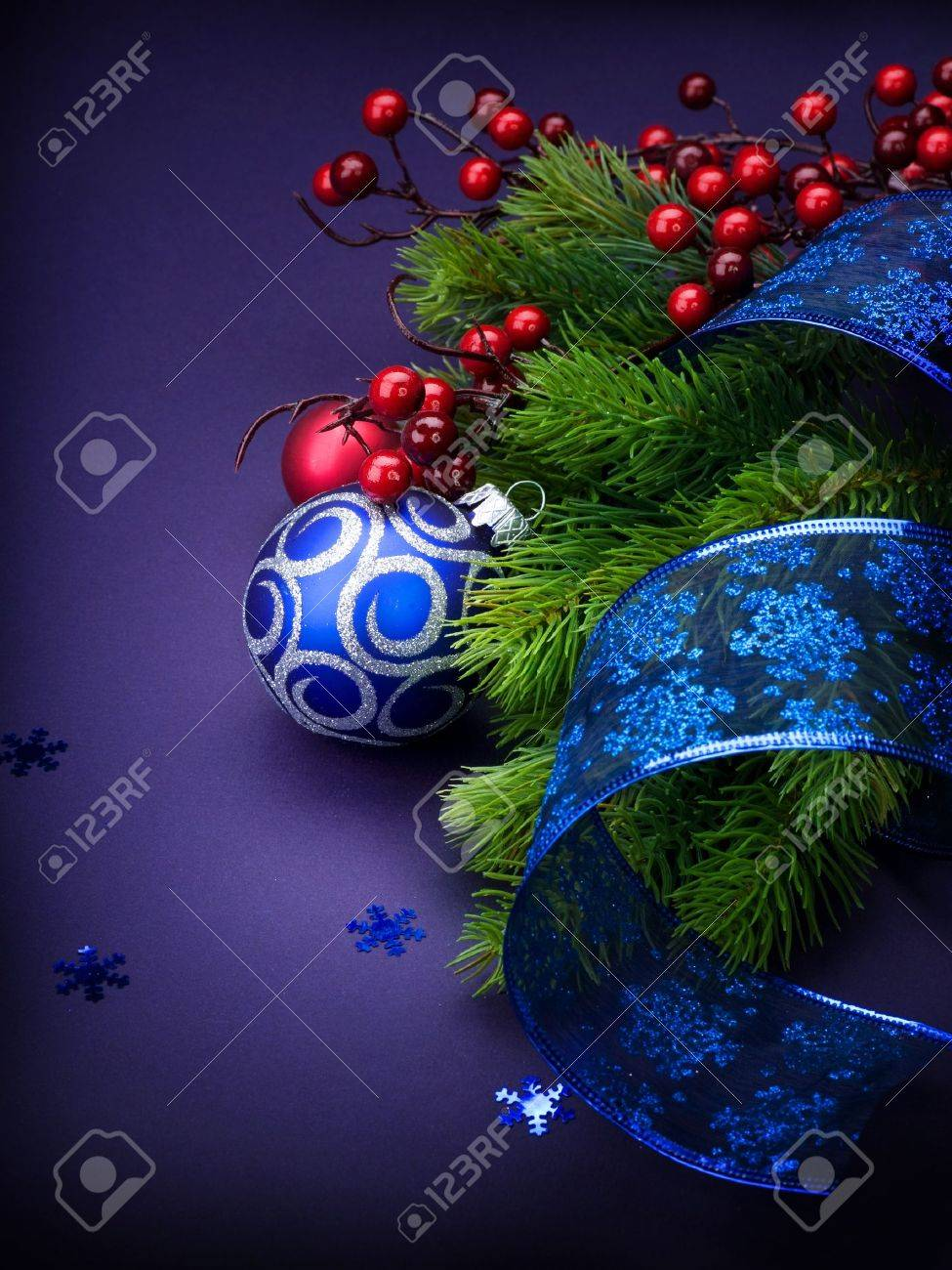 Christmas and New Year Decoration Stock Photo - 9358075