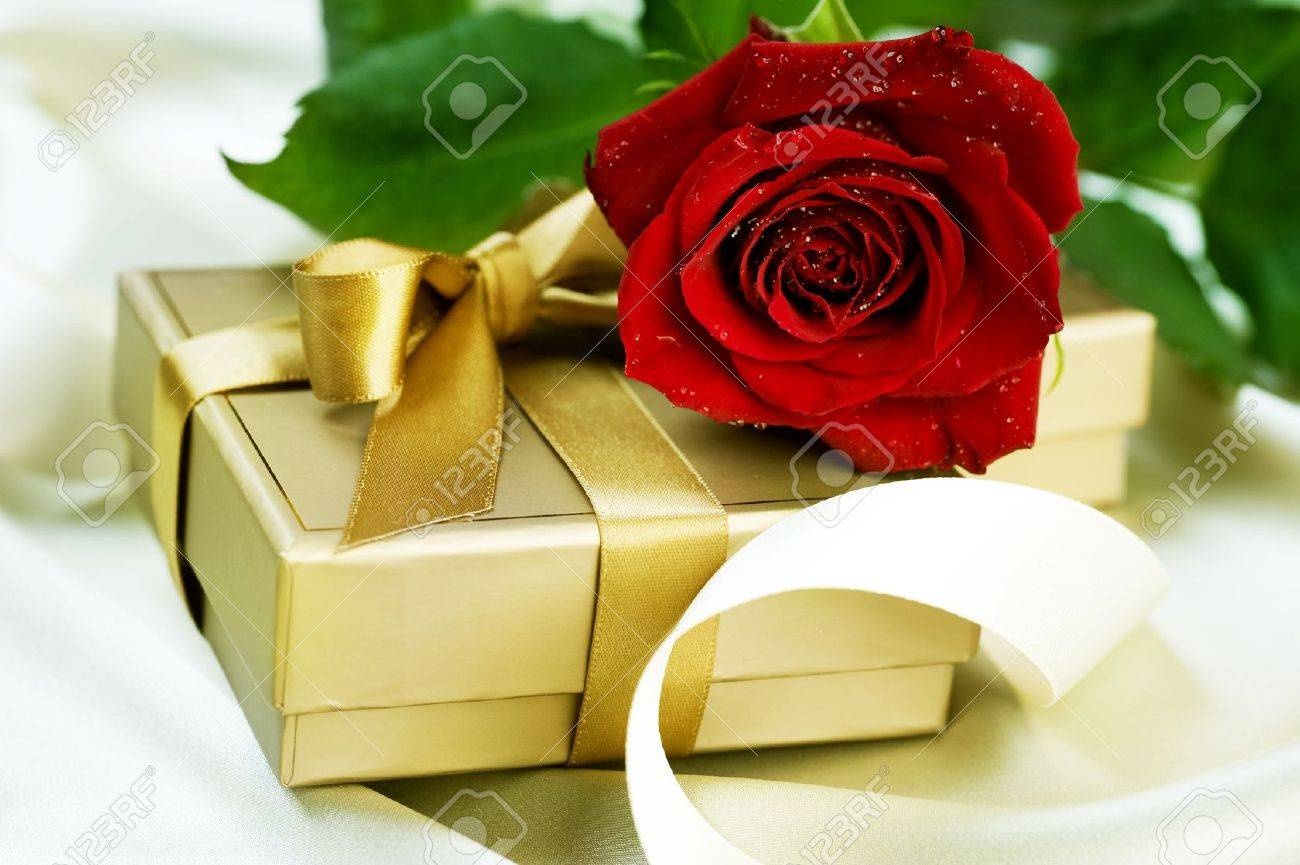 Valentine or Wedding Gift Stock Photo - 8720869