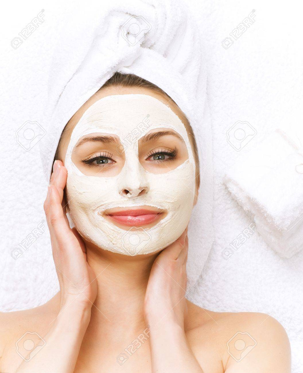 Spa Facial Mask Dayspa Concept Stock Photo Picture And Royalty Free Image Image 9059084