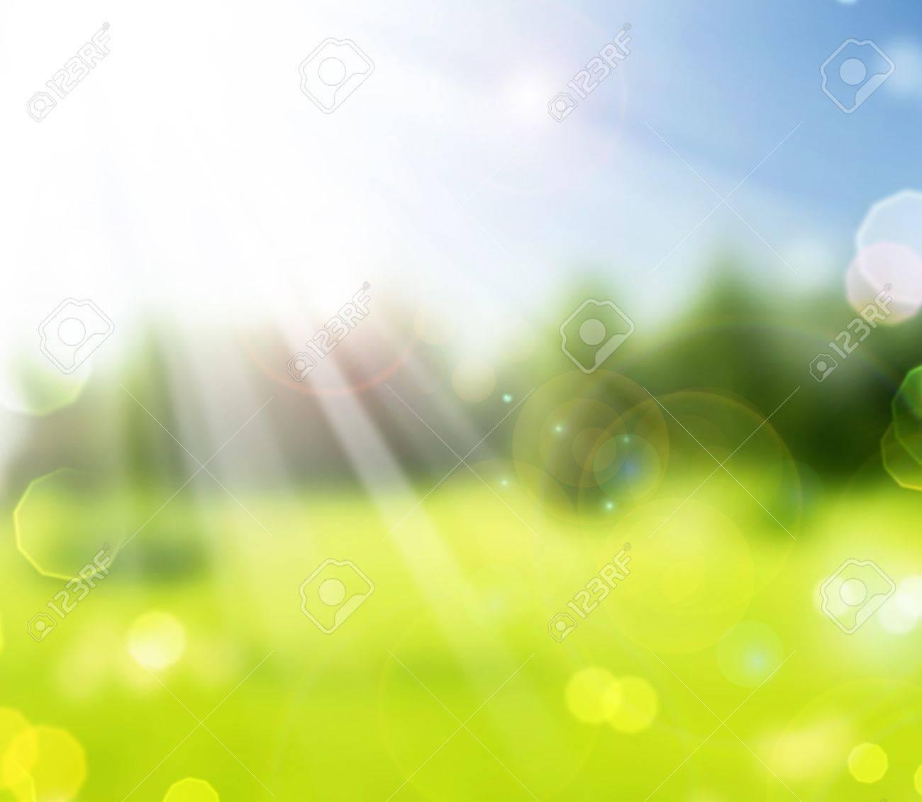 Beautiful Nature Spring Bokeh.Blurred Sunny background Stock Photo - 9202577