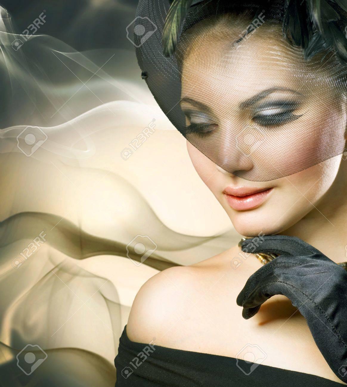 romantic beauty portrait Stock Photo - 9655669