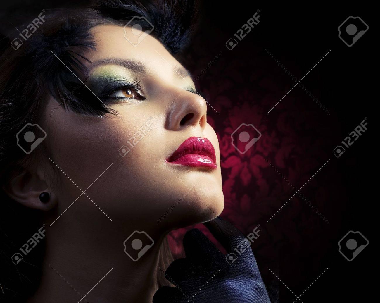 Luxury Woman portrait Stock Photo - 10996528