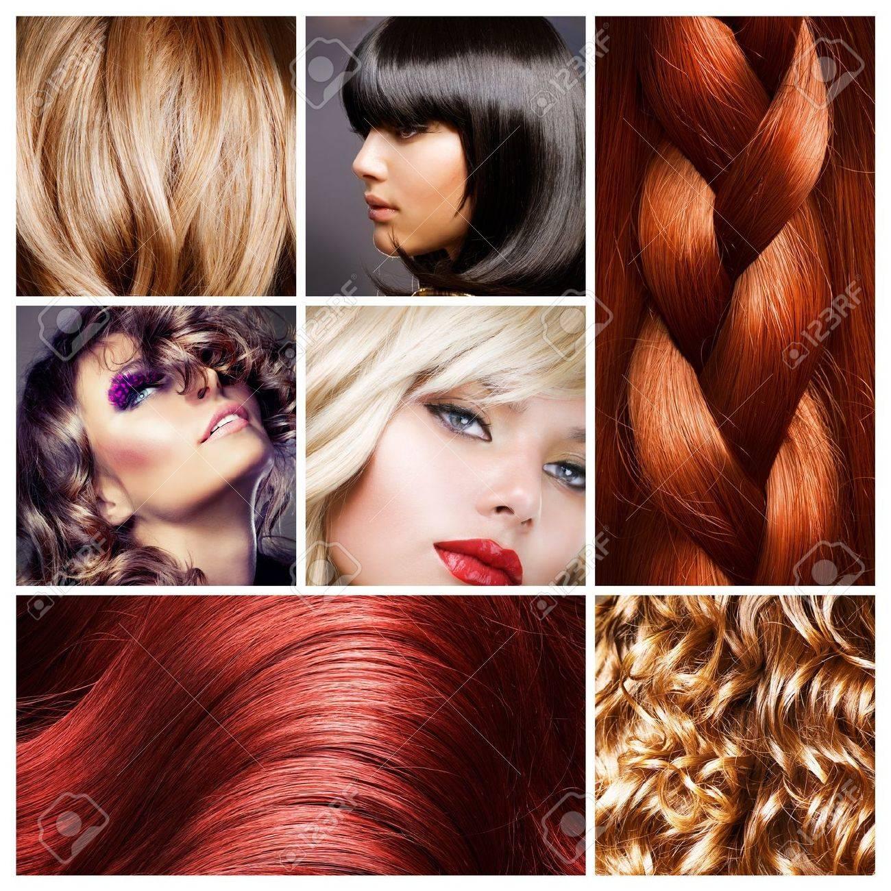Прически и окрашенные волосы