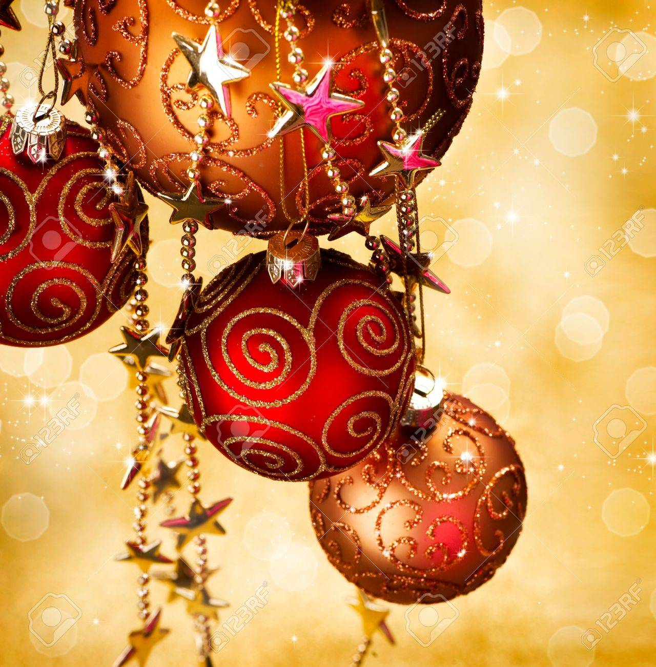 christmas and new year border design stock photo 11559915