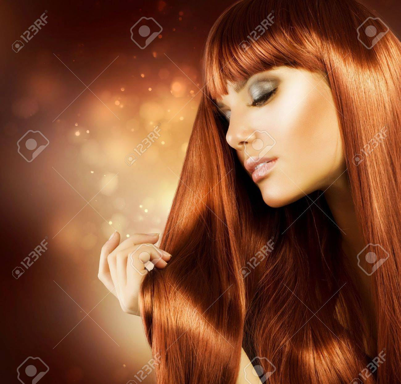 Healthy Hair Stock Photo - 11753184