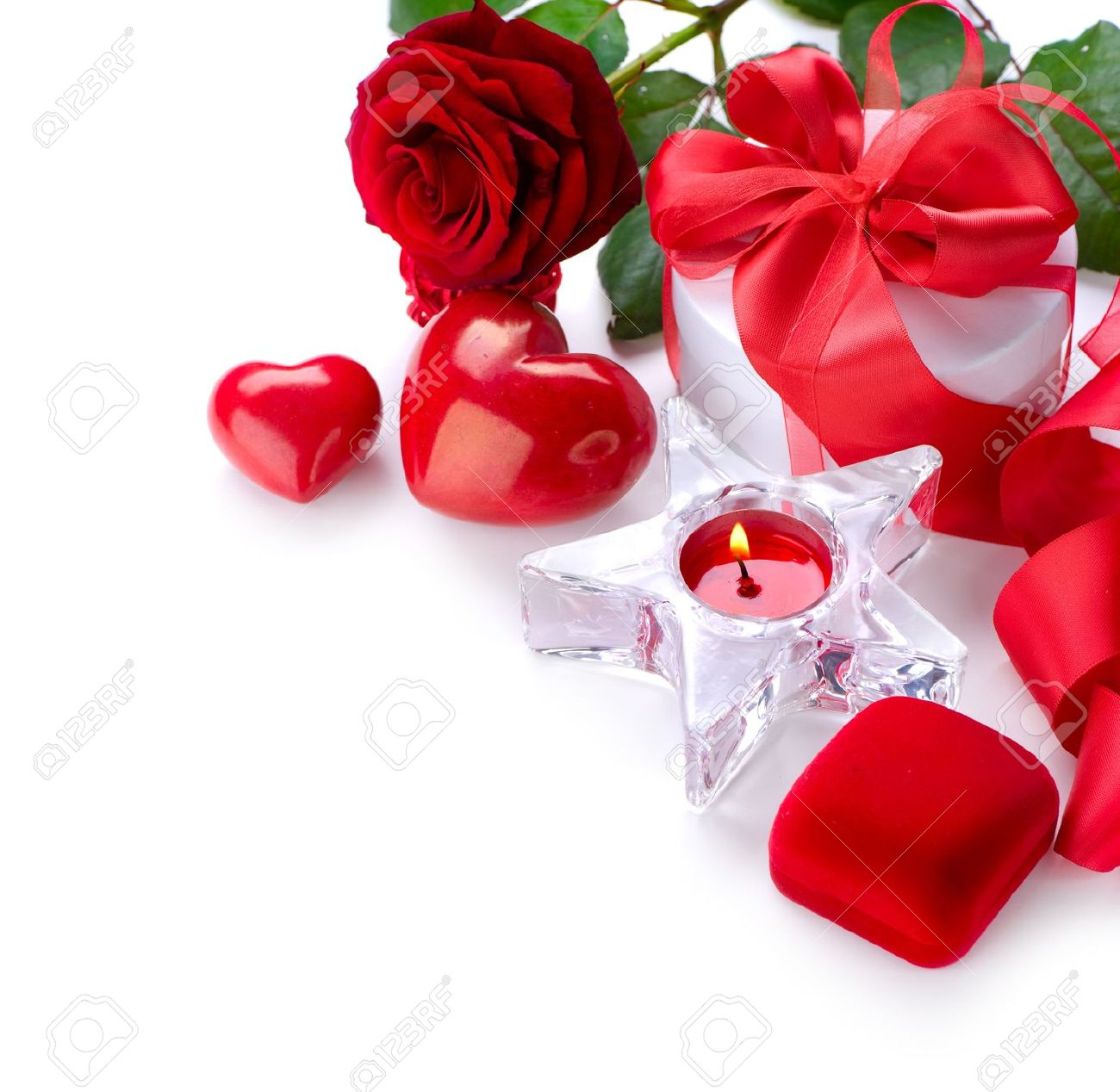 Valentine Border Design Stock Photo Picture And Royalty Free Image