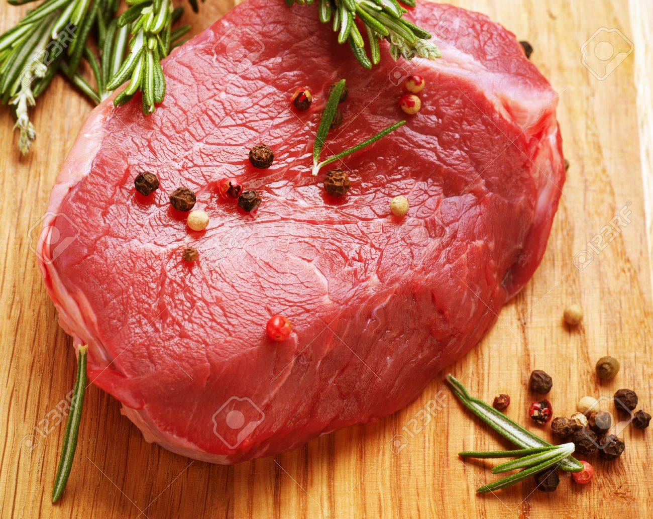 Raw Beef Steak Stock Photo - 14054772