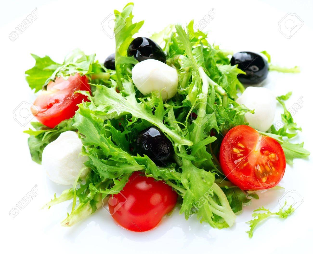 Salad with Mozzarella Cheese - 15057237
