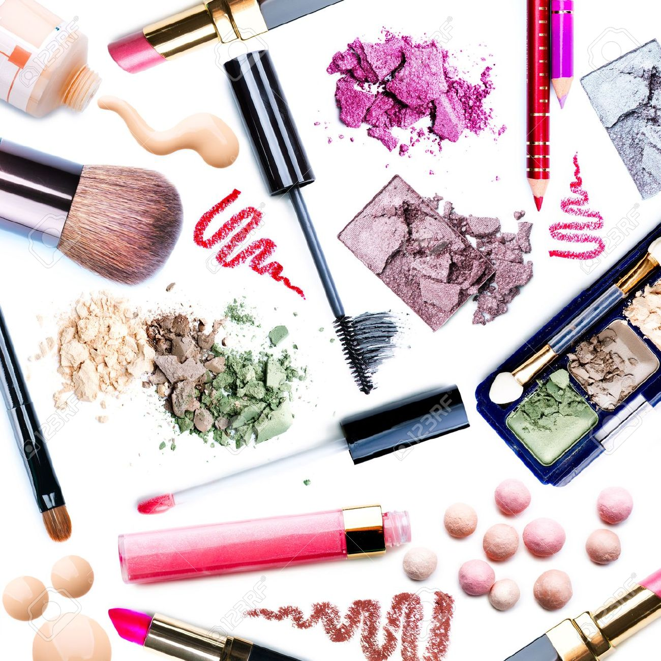 Make-up Set  Collage Stock Photo - 15057254