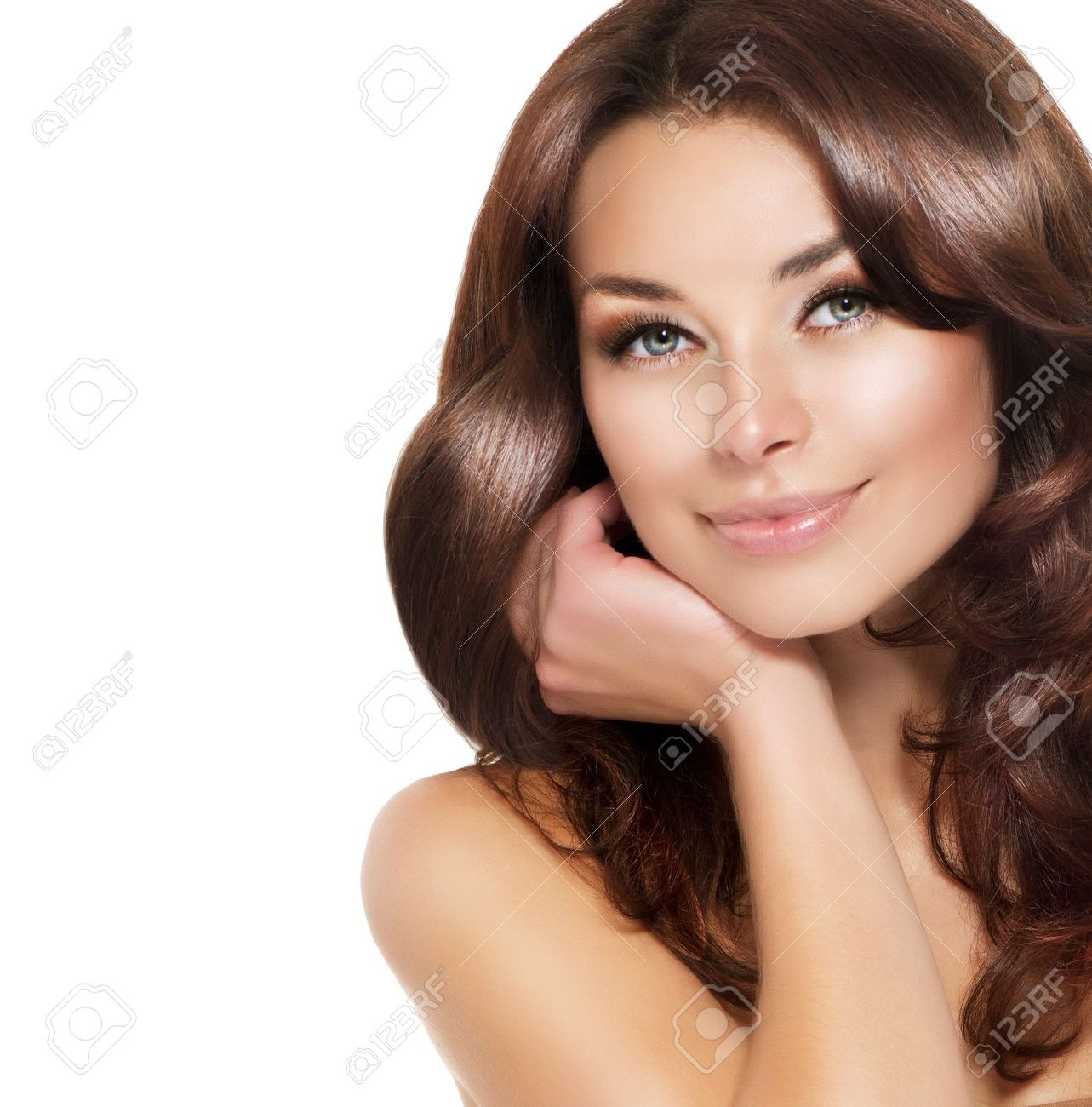 Beautiful Stock Photos Beautiful Brunette Woman