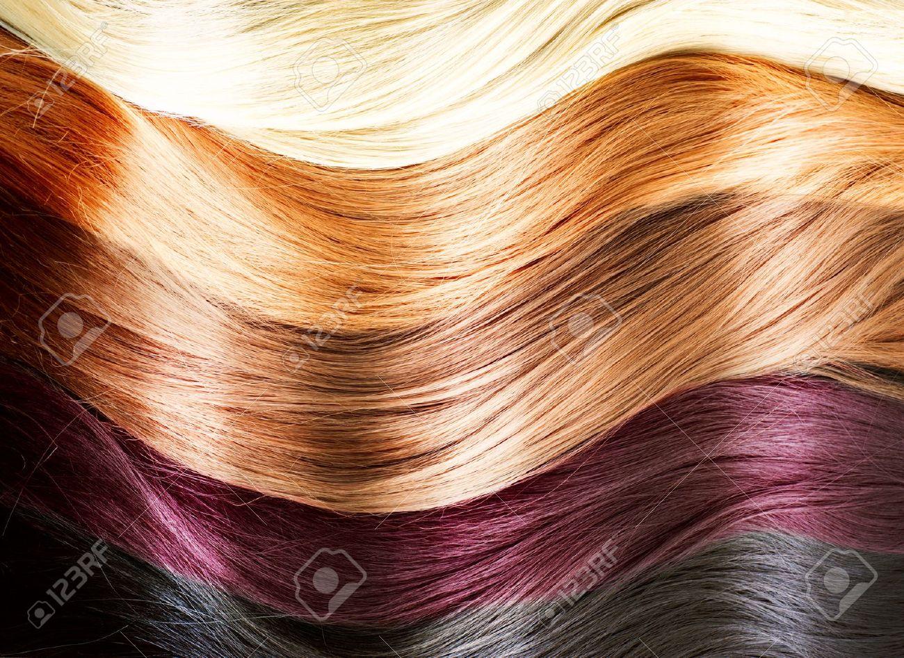 Как покрасить волосы в чёрный цвет народными средствами