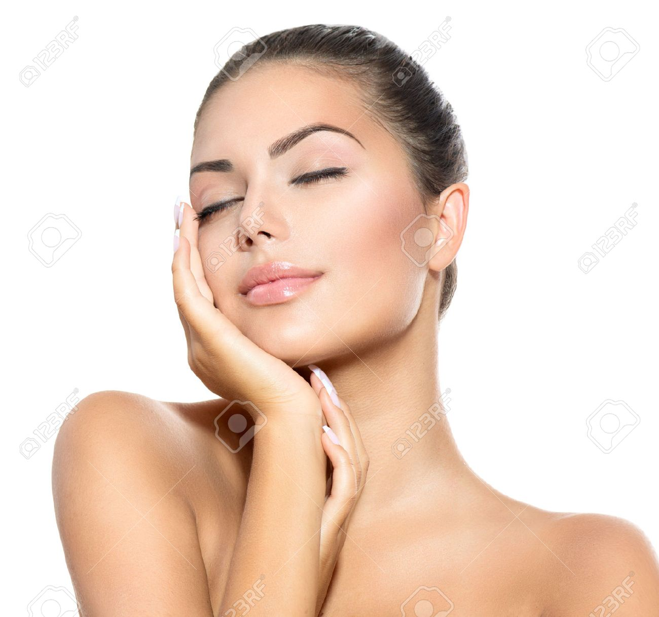Beautiful Stock Images Beauty Portrait Beautiful Spa