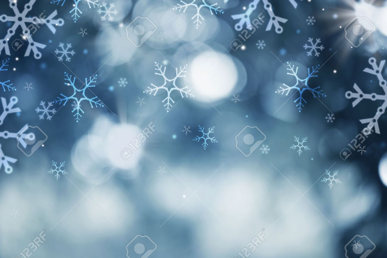 winter holiday snow background christmas abstract backdrop stock