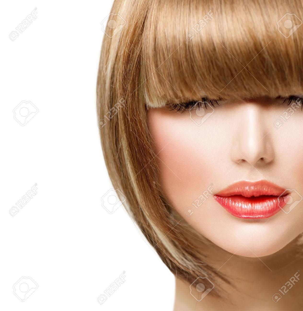 Mädchen mit für haaren frisuren kurzen 15 Frisuren