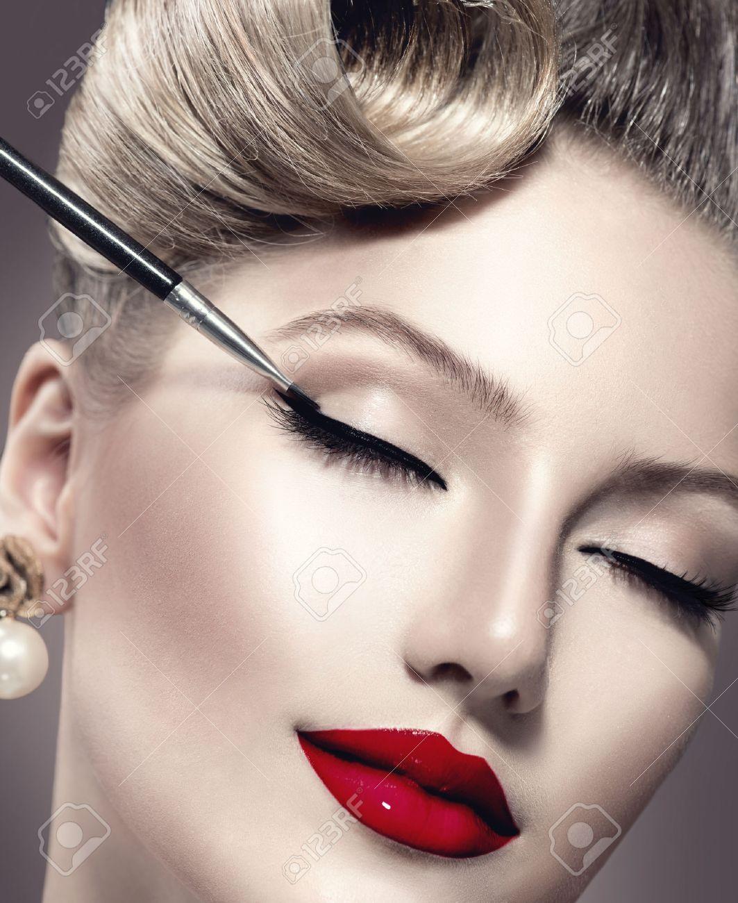 Styles Makeup Makeup Vintage Style Make-up