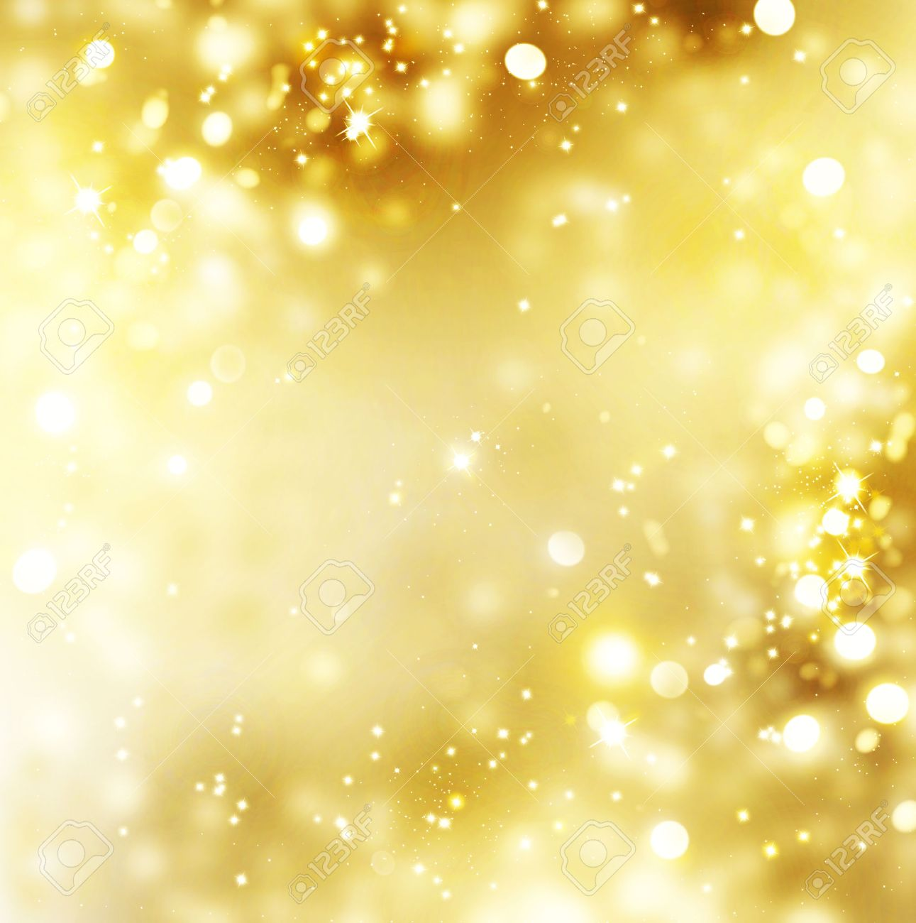 christmas gold background golden holiday glowing background stock