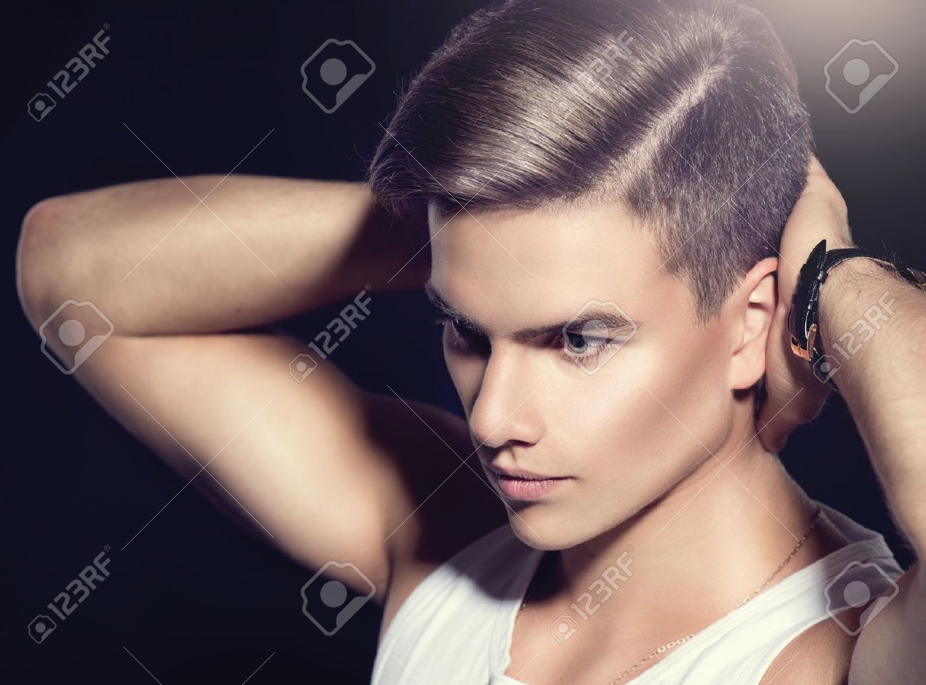 Haircut Stock Photos And Images 123rf