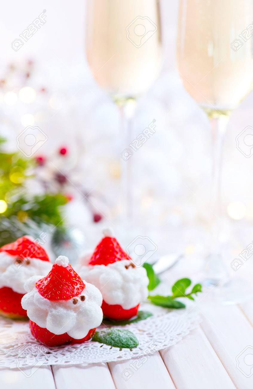 Weihnachtsfeier Ideen Essen.Stock Photo