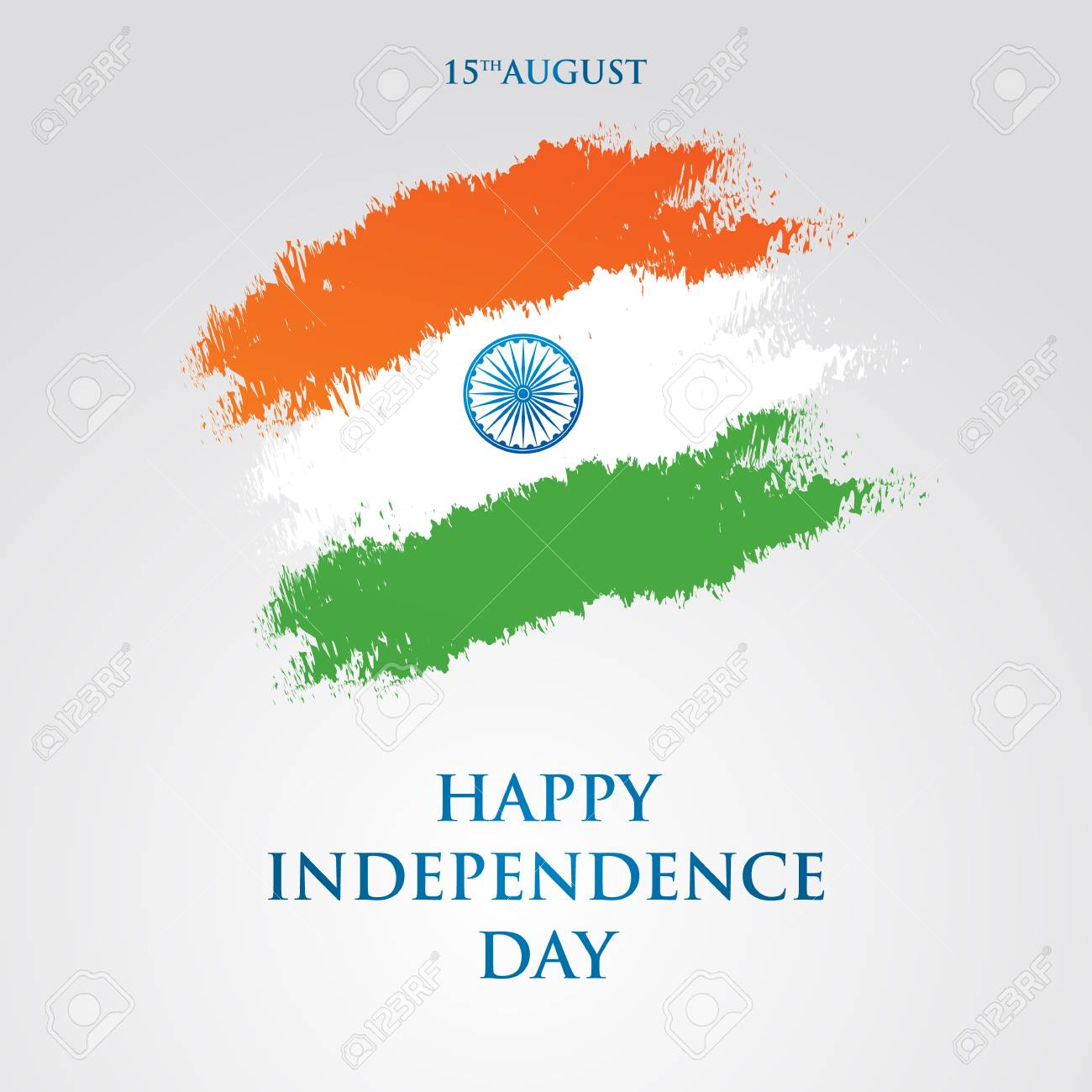 India independence day greeting card vector illustration 15th india independence day greeting card vector illustration 15th august happy independence day stock vector m4hsunfo