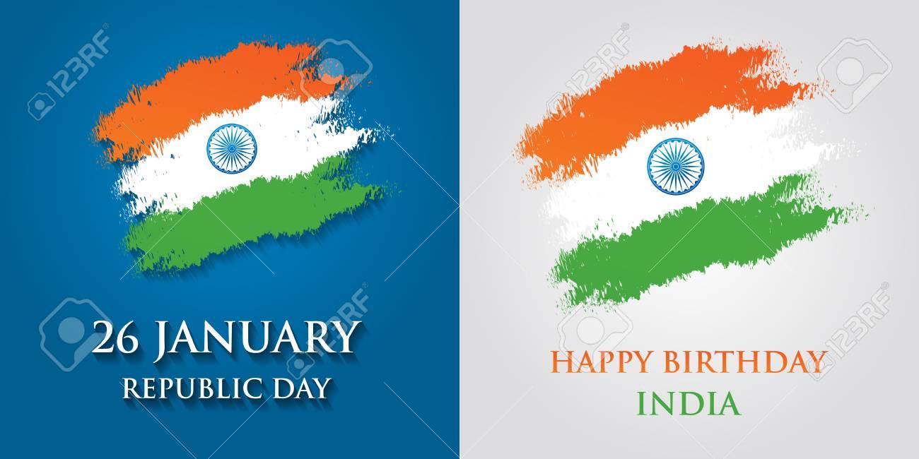 India republic day greeting card design vector illustration india republic day greeting card design vector illustration 26 january republic day of india m4hsunfo