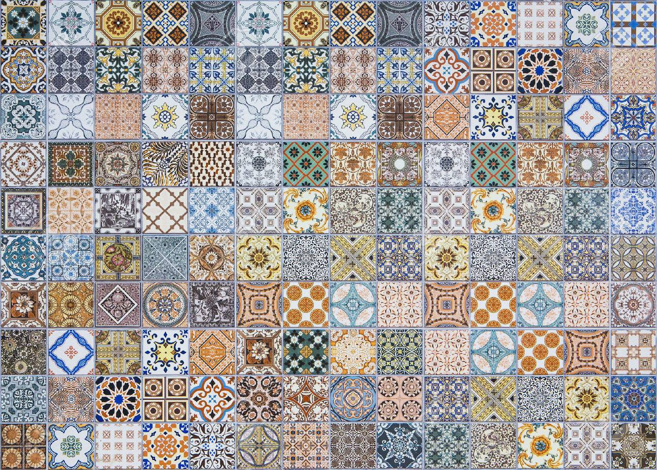 Ceramic tiles patterns from portugal stock photo 50248612