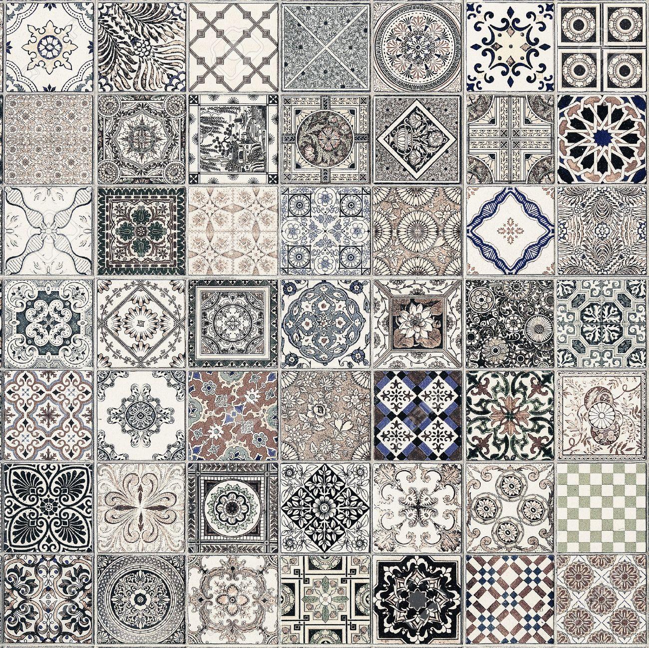 Fliesen Muster Aus Portugal. Lizenzfreie Fotos, Bilder Und Stock, Modern  Dekoo