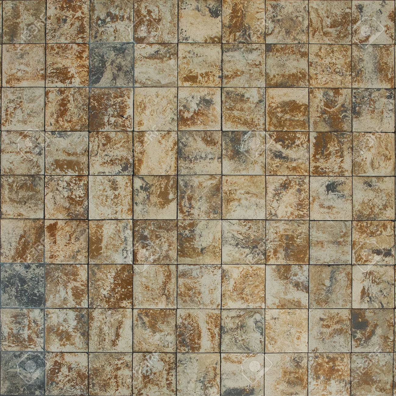 Old Wall Ceramic Tiles Patterns Handcraft From Thailand Parks ...