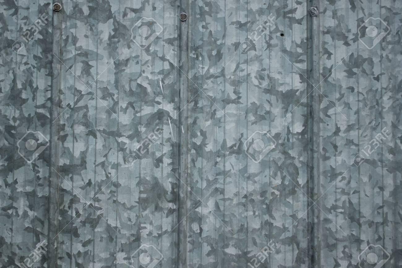 Galvanized panels