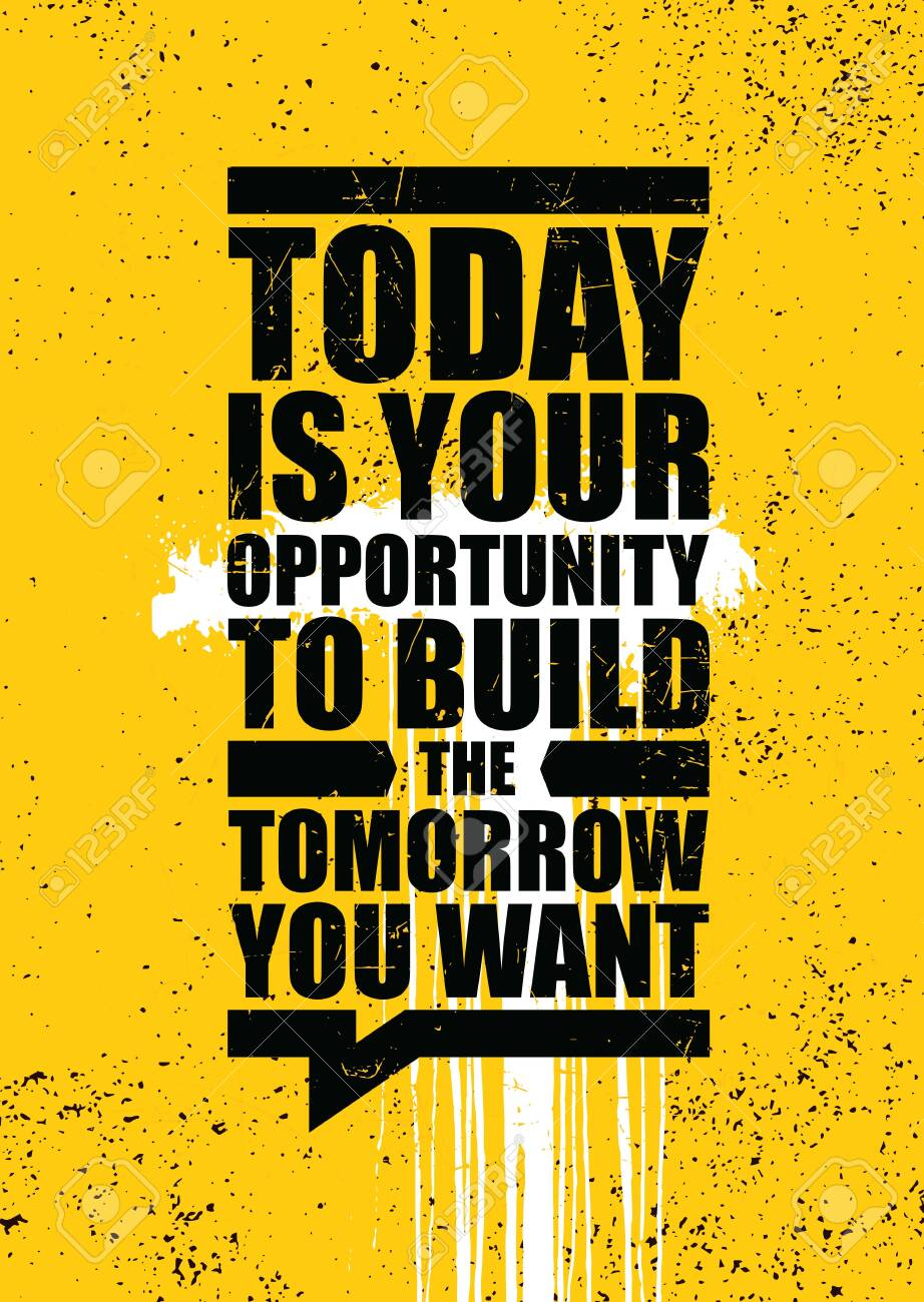 Creative Strong Vector Rough Typography Grunge Wallpaper Poster Concept - 136456160