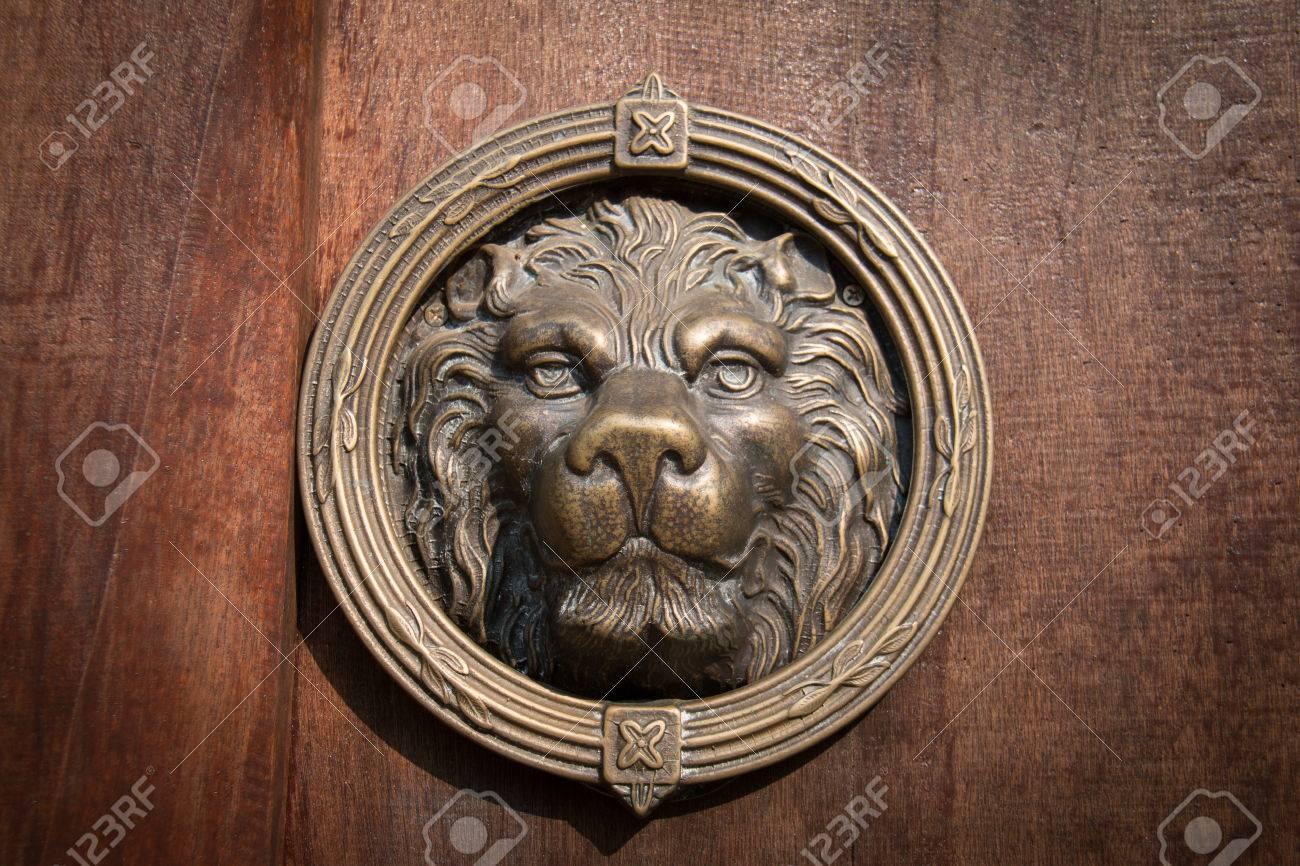 Lion Head Door Knocker Lion Head Door Knocker