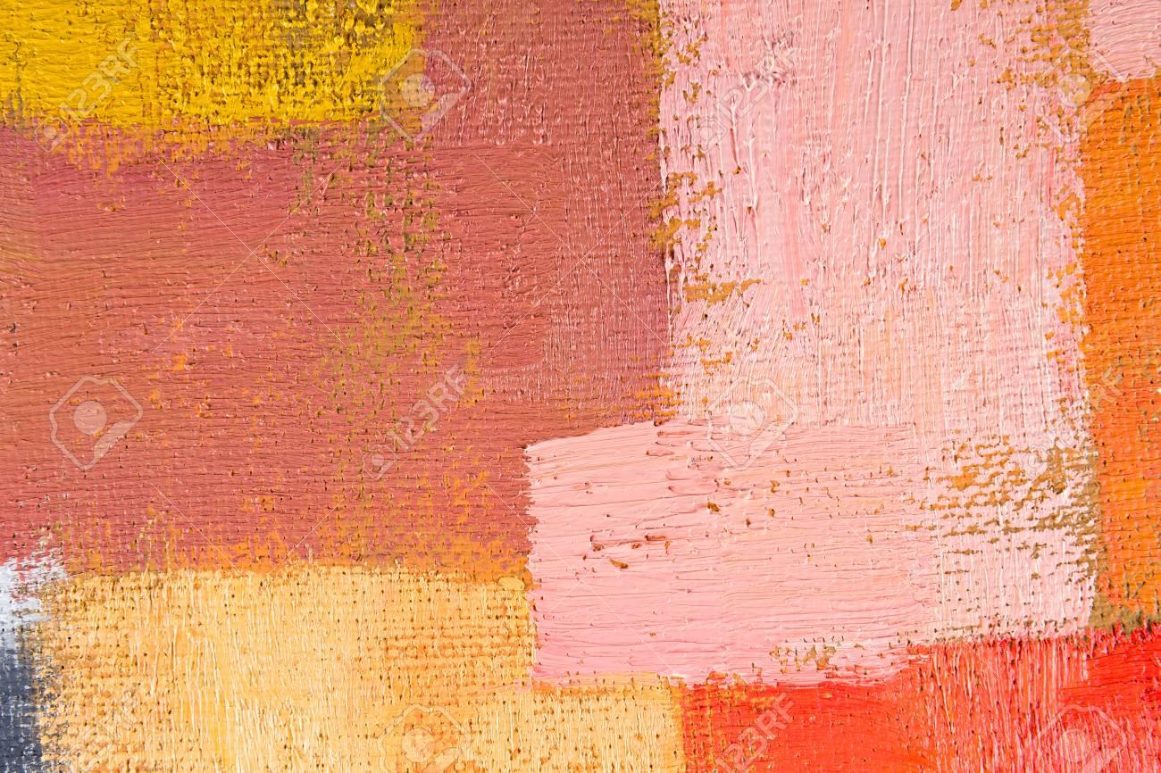 Fond Décran Abstrait Texture Fond Dune Huile Originale Rouge