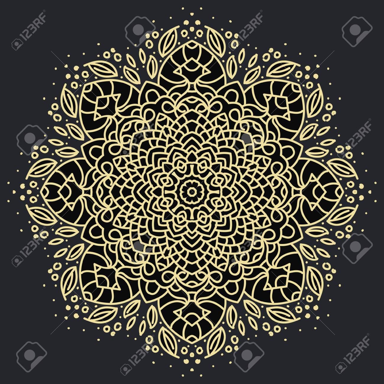 Ancient geometric mandala - 133733142