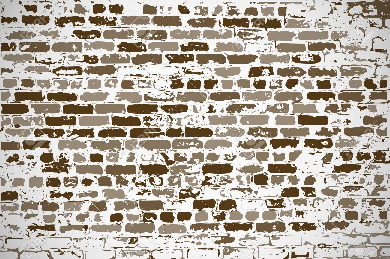 Standard Bild   Wand Aus Silikat Alten Backstein Als Leeren Hintergrund Für  Ihr Design, Text, Neue Ideen
