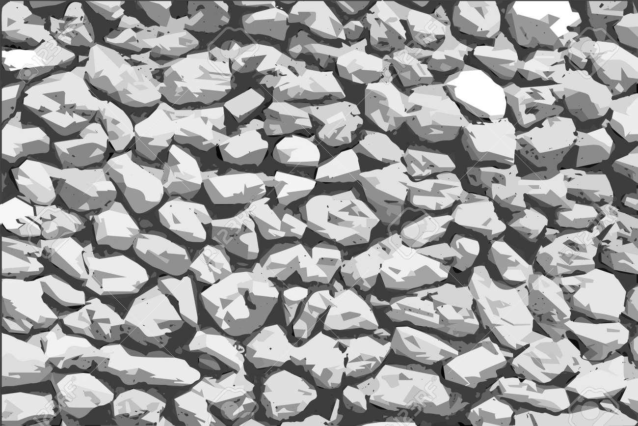 Background stones vector illustration - 166394133