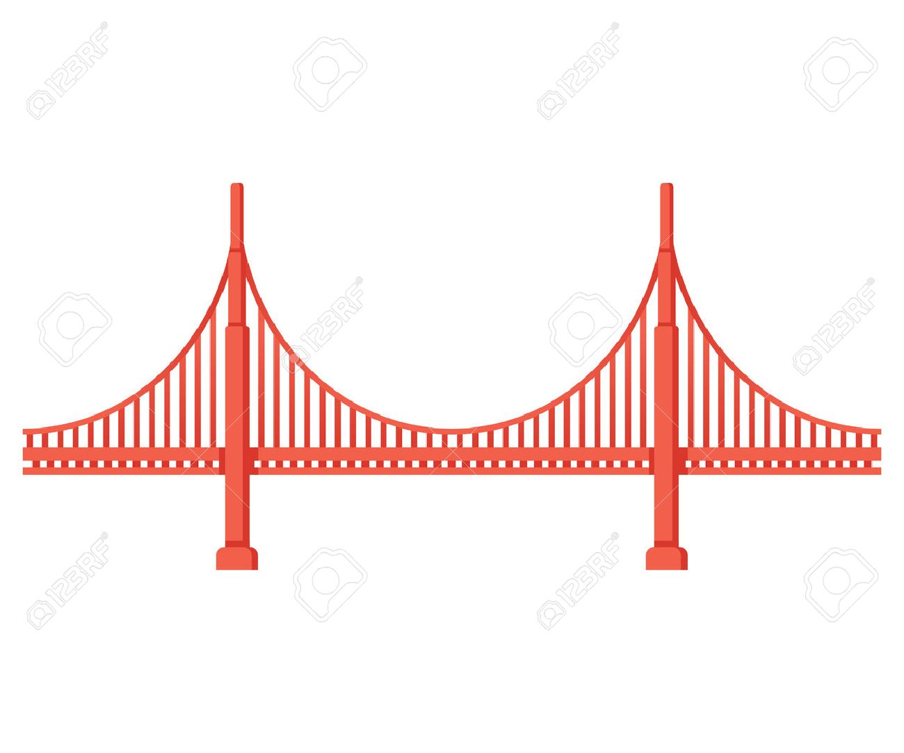 golden gate bridge vector illustrator file. ponte golden gate \u2014 vetores de stock © joeiera #8898564 bridge vector illustrator file