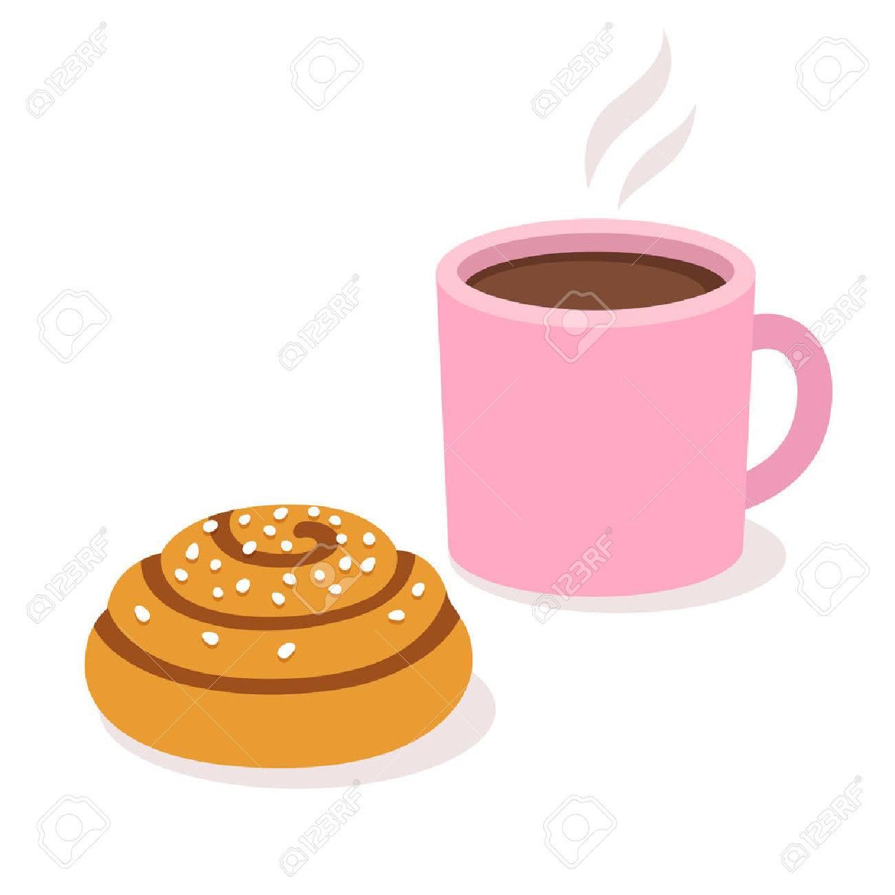 Bildresultat för clipart bun coffee