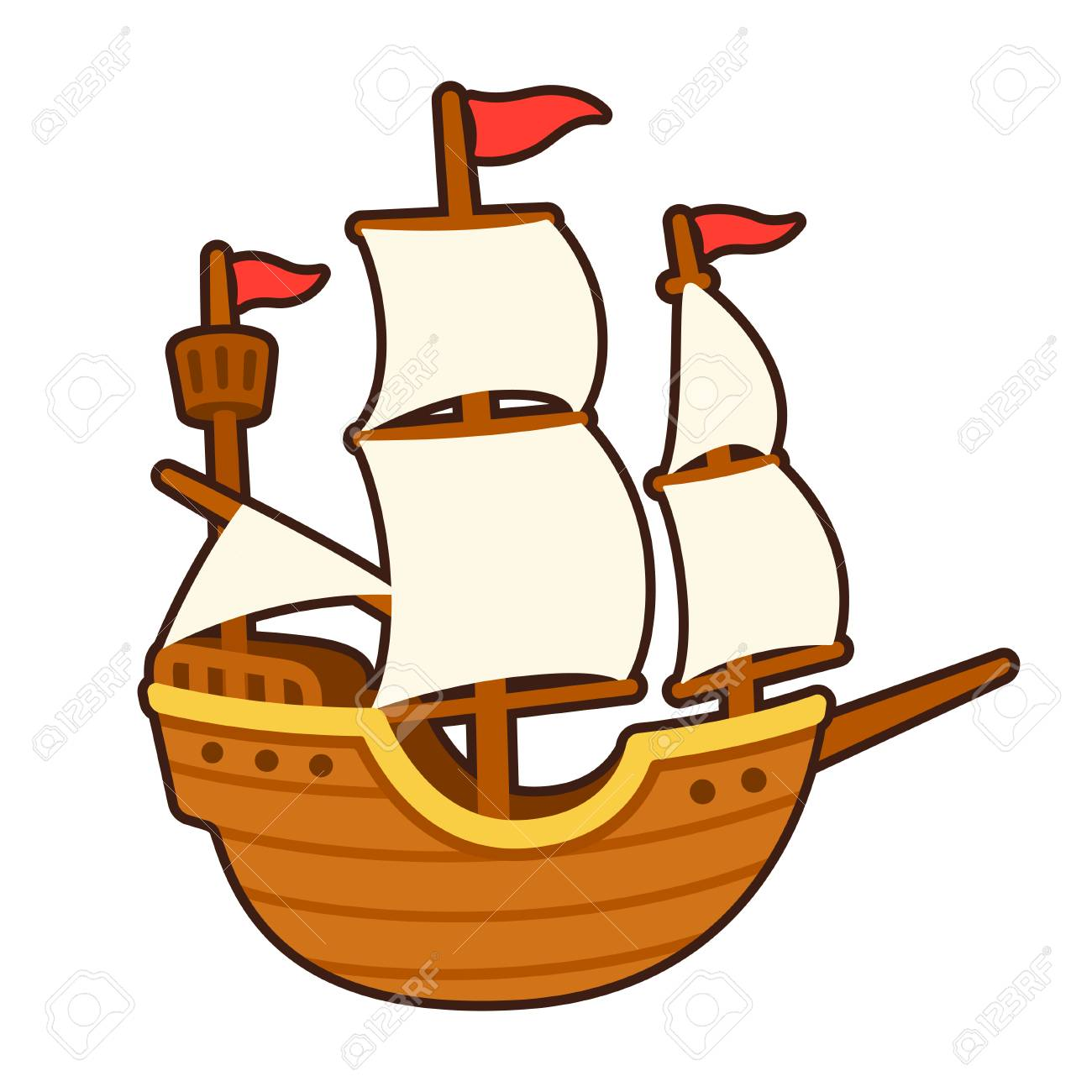 old cartoon ship drawing with white sails traditional tall ship royalty free cliparts vectors and stock illustration image 89095102 old cartoon ship drawing with white sails traditional tall ship