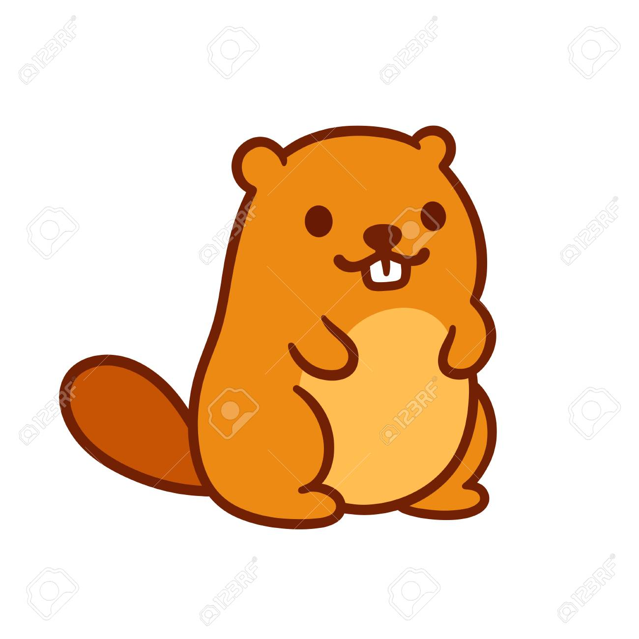 Beaver Images Free Download Png Beaver Animation Home - Cartoon Beavers  Clipart (#1065944) - PinClipart