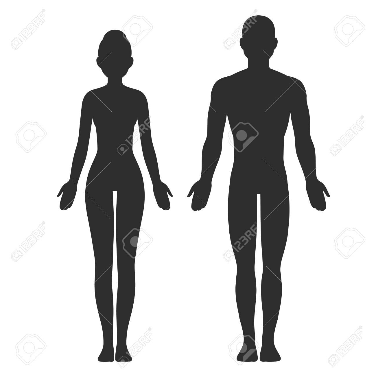 Male And Female Body Art