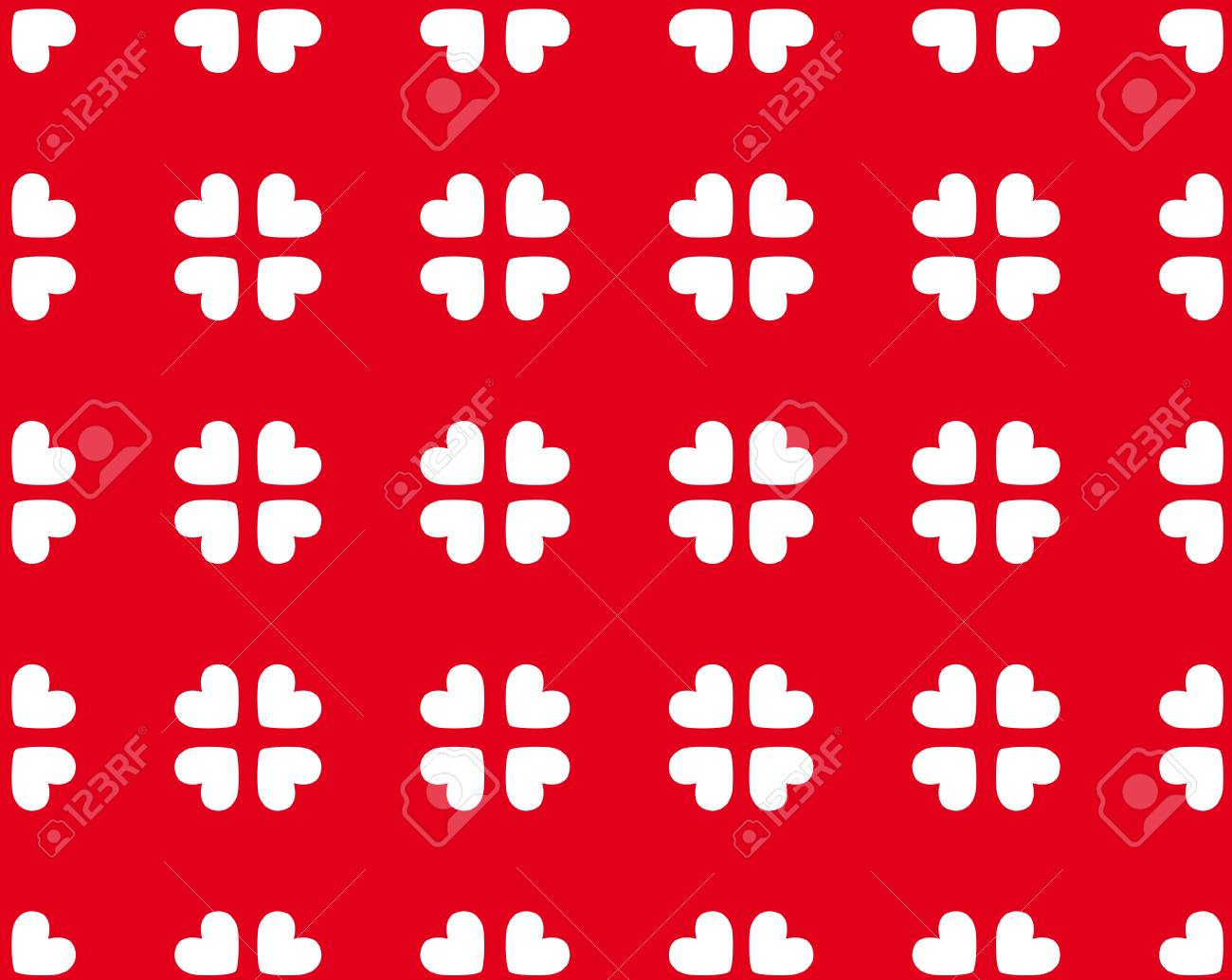 Seamless heart pattern for every use Stock Vector - 4525335