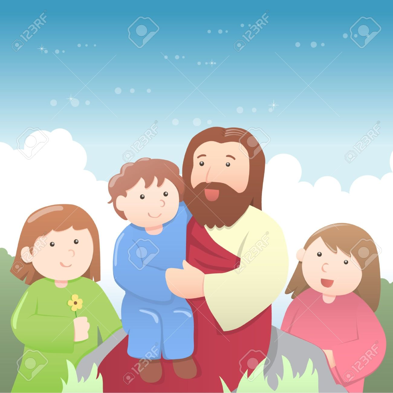 jesus with children images u0026 stock pictures royalty free jesus