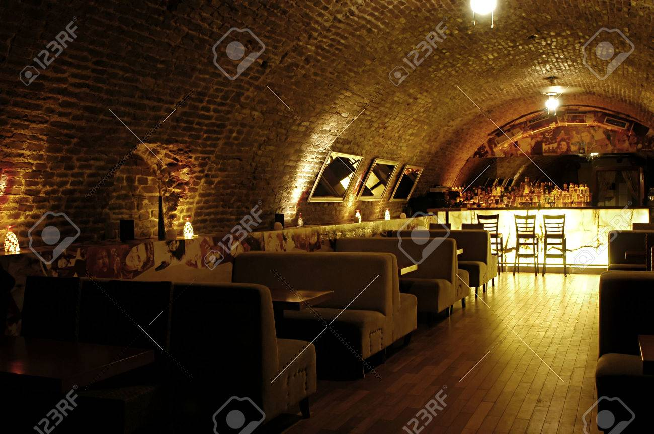 Picture of modern bar interior Stock Photo - 1397122