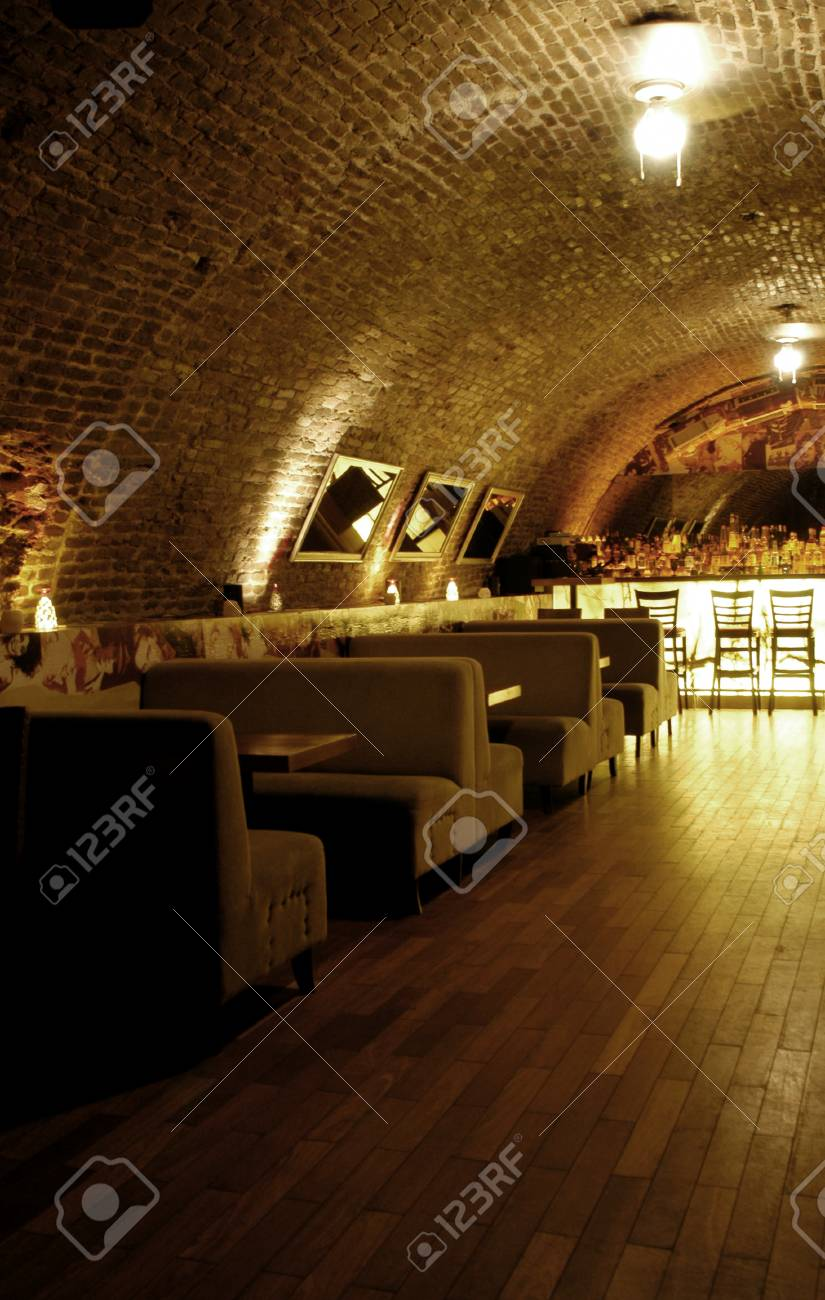 Picture of modern bar interior Stock Photo - 1397112