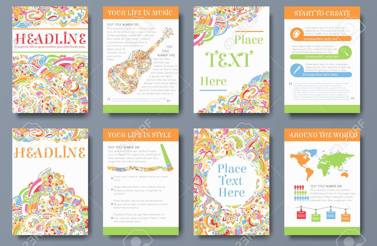 brochure background templates