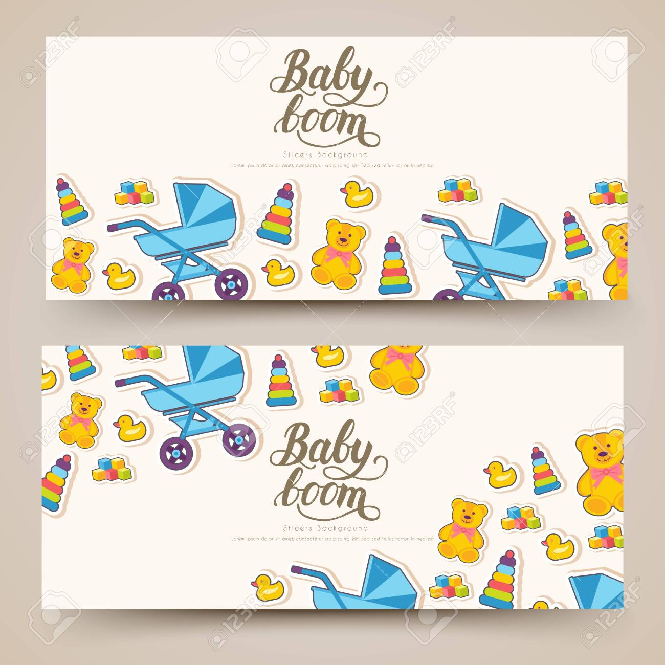 World Breastfeeding Week Cards Banners Kids Elements Of Flyear Royalty Free Cliparts Vectors And Stock Illustration Image 123642496